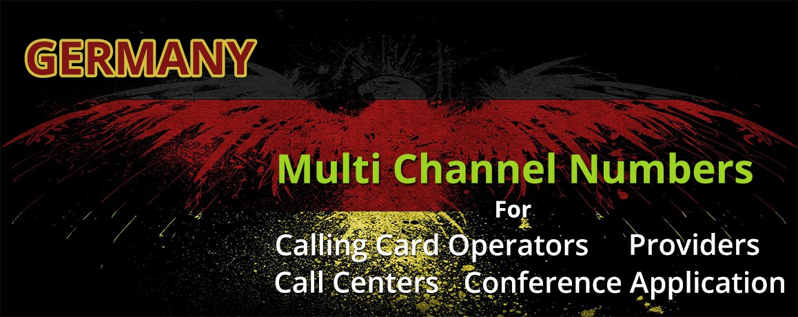 Germany Numbers unlimited channels| No Local Address Proof