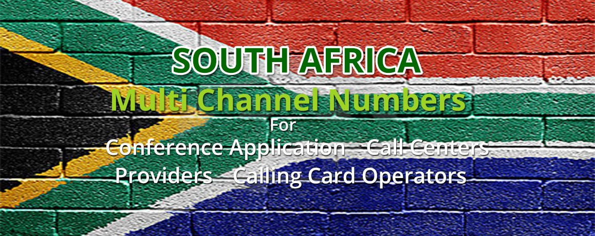 South Africa DID Numbers |Unlimited channels