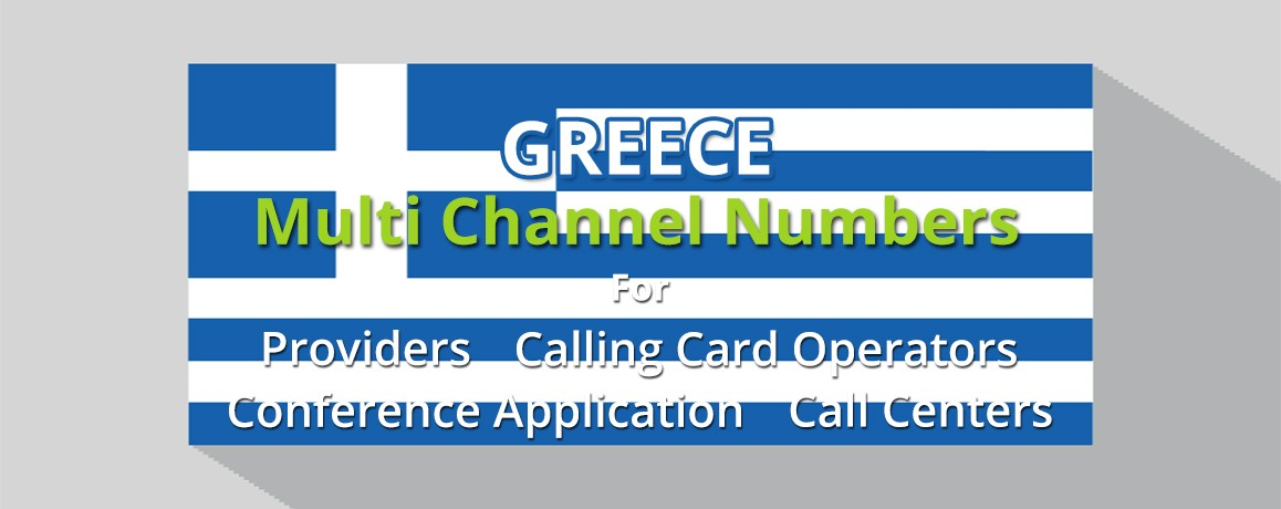 Greece Numbers unlimited channels| No Local Address Proof